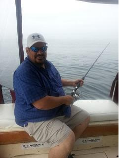 Happy guest of fishoncharters.ca