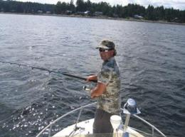 Tyee Fishing In BC Canada